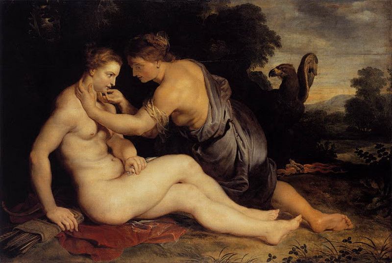 Jupiter and Callisto, Peter Paul Rubens